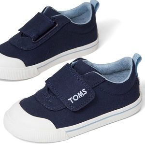 🆕 TOMS Doheny Sneakers Navy Canvas NWOB sz 11